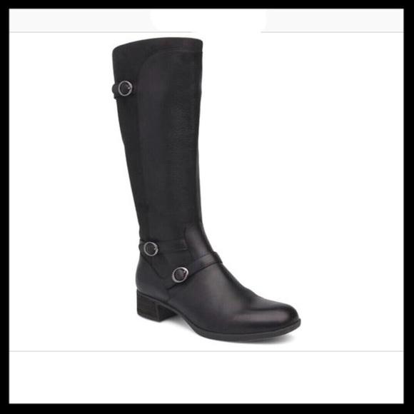 Lorna Burnished Nappa Leather Boots